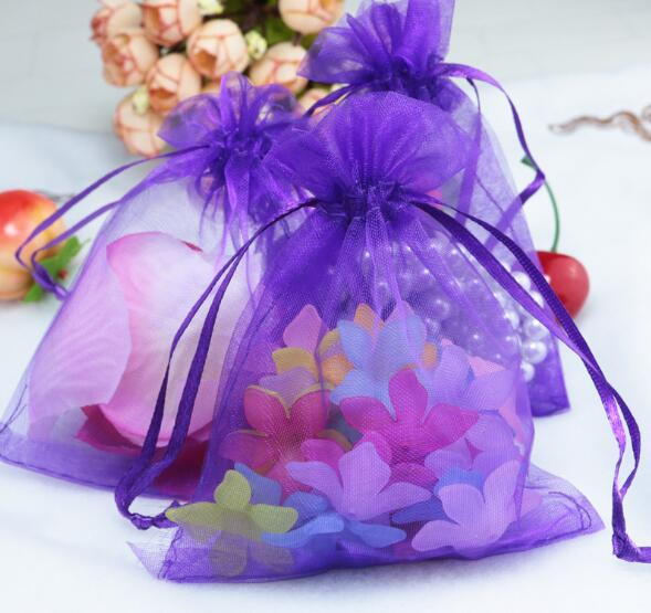 7*9cm Drawstring Bag Cosmetic Bag Travel Makeup Case Organizer Jewelry Mesh Gift Pouches Candy Jewelry Packaging Bags