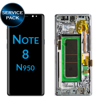 Оригинальный супер Amoled lcd pantalla для SAMSUNG Galaxy Note8 N9500 N950F N900D N900DS сенсорный экран дигитайзер с рамкой