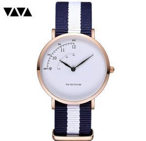 Image 4 - Fashion Design Nylon Women Watch Ladies Quartz Wristwatch Leather Strap ALL match Dress Clock Female montre femme 2019