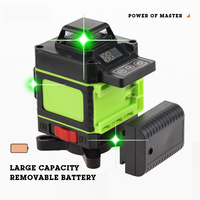 16 Lines 4D Laser Level Level Self Leveling 360 Horizontal And Vertical Cross Super Powerful Green Laser Level Construction Tool