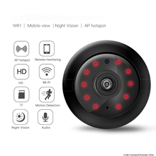 цена на Wifi IP Camera Wireless Night Vision Smart Wireless Wifi Network Surveillance Camera Ring Alarm + Mobile Phone Push Camera
