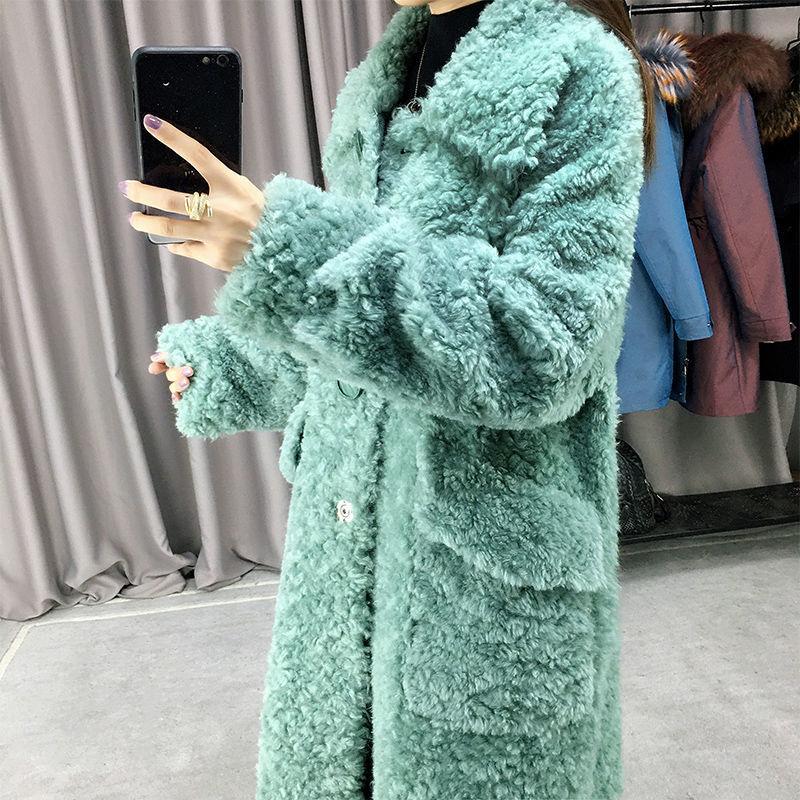 Women 2020 Winter Real Fur Coat Female, Target Winter Coats Ladies