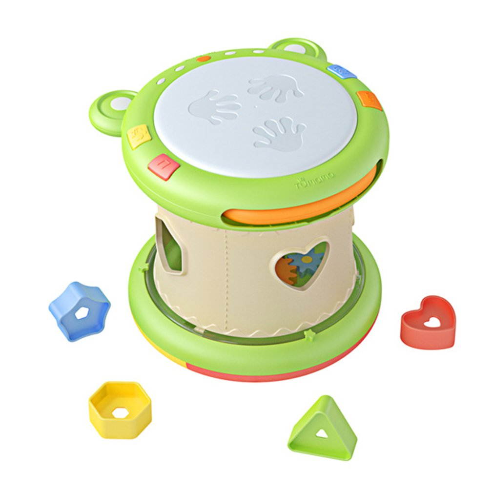 Детские ручные барабаны, Детские барабаны, музыкальные инструменты, детские игрушки, 6 12 месяцев, музыкальная игрушка для малышей, лягушка, М