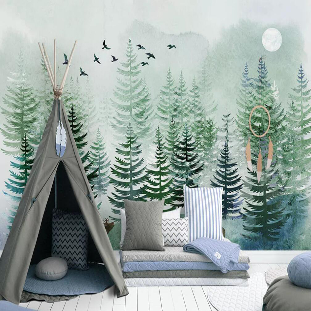 Milofi Custom 3D Wallpaper Mural Nordic ...