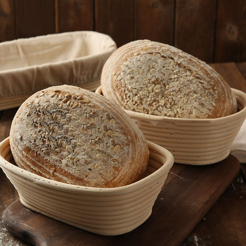 Chleb bagietka ciasto Banneton Brotform Proofing udowodnienie kosze fermentacja Rattan kosz wiklinowy kraj różne kształty wybierz tanie i dobre opinie Bread Rattan Basket Ekologiczne Narzędzia do pieczenia i cukiernicze