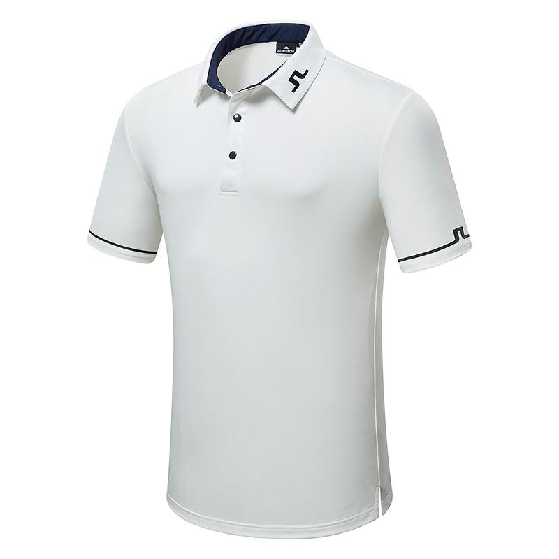 2020 Golf Clothing Summer New JL Golf Men's T-shirt Comfortable Breathable Quick-drying Golf Short Sleeve Free Shipping
