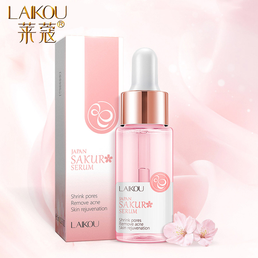 LAIKOU Hyaluronic Acid 15ml Essence Facial Serum In Beauty And Health Vitamin C Face Serum Cream Anti-Aging Dry Skin Care New