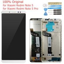 をxiaomi redmi注 5/注 5 proのlcdディスプレイフレーム画面タッチデジタイザーアセンブリlcdディスプレイ 10 修理部品