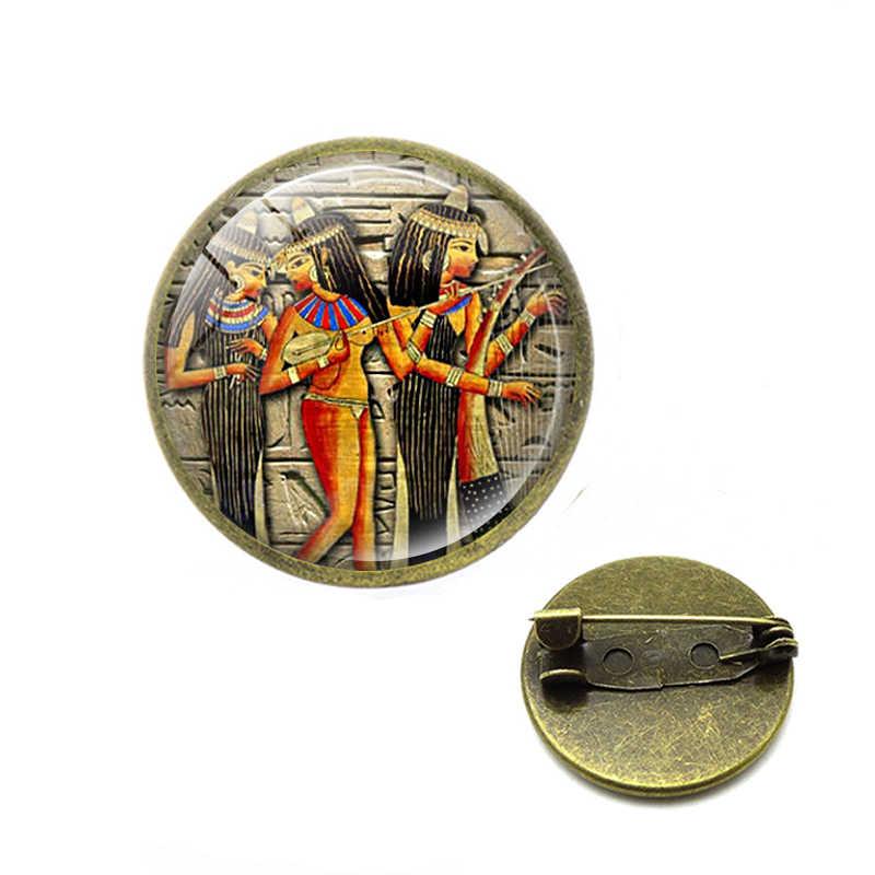 Bijoux égyptiens egypte pharaon cléopâtre broches et pyramide Illuminati mauvais œil Ankh broches hommes femmes Talisman amulette