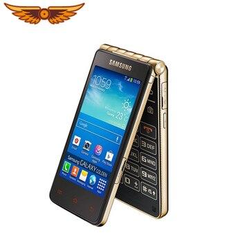 DHL darmowa wysyłka oryginalny Samsung Galaxy złoty I9235 dwurdzeniowy 3.7 cal 1.5GB RAM 16GB ROM 8MP odblokowany odwróć Android telefon|Telefony Komórkowe|   -