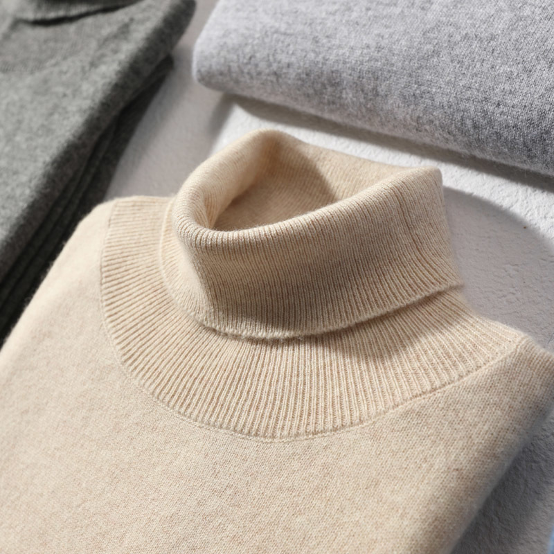 Wool Sweater Men Winter Clothes 2020 Brand Cashmere Turtleneck Pullover Man Casual Warm Pull Homme Mens Sweater MR1902