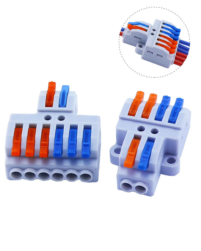 Splitter Cable Connector Terminal Compact-Wire 5/10pcs/lot