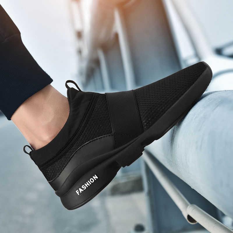 Новинка 2019 года; модная классическая обувь; Мужская обувь; удобная дышащая повседневная легкая обувь для женщин; Flyweather