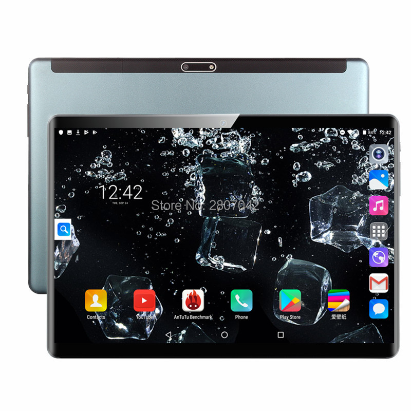 2020 NEW Android 9.0 Smart 10.1 Inch 6G+128GB WiFi Tablet PC Dual SIM Dual Camera Rear Bluetooth 4G Call Phone Tablet 1920*1200