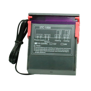 Image 3 - Dijital sıcaklık kontrol cihazı Termostat Termoregülatör inkübatör için Röle LED 10A Isıtma Soğutma STC 1000 12V 24V 220V