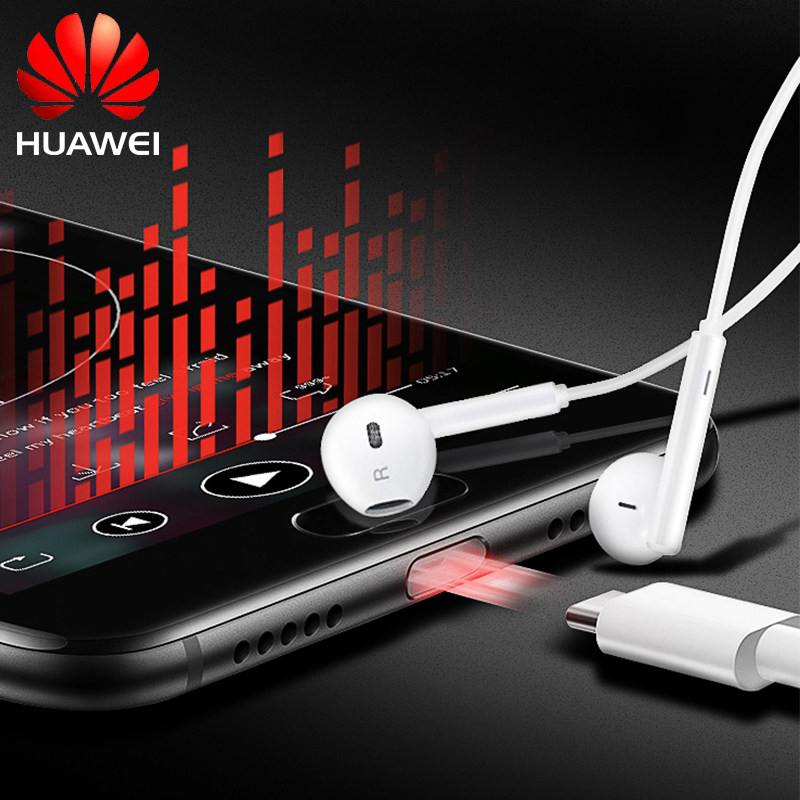 <font><b>Huawei</b></font> Pro USB Typ C Headset CM33 Original Nova5/<font><b>P20</b></font>/P30Pro Mate10Pro/20X RS Herrlichkeit 20/magic2 Note10 Typ-c Gewidmet Authentische image