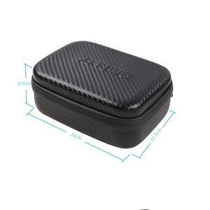 Image 5 - storage bag Osmo pocket Portable case PU waterproof  Shock absorber bag filter Spare parts box for dji osmo pocket camera