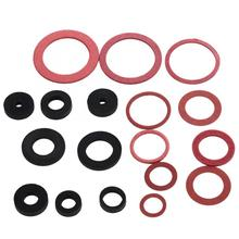 141pcs  NBR O-Ring Tap Seal Plumbing Gasket Rubber Washer Assortment Set 225pc rubber o ring gasket assortment kit sae plumbing auto hydraulics hvac gas