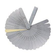 Feeler-Gauge Gage-Set 32-Blades METRIC Measuring-Range Thickness with Brass Tappet-Valve