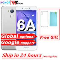Honor 6A jugar 2GB 16GB Original nuevo teléfono móvil snapdragon 430 Octa Core Android 7,0 de 5,0 pulgadas Identificación de huellas dactilares