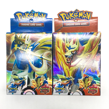 Tomy 25PCS Pokemon GO Card GX TRAINERS TGA TEAM BREAK 3D Flash Card SWORD&SHIELD Grookey Scorbunny Collectible Gift Children Toy image