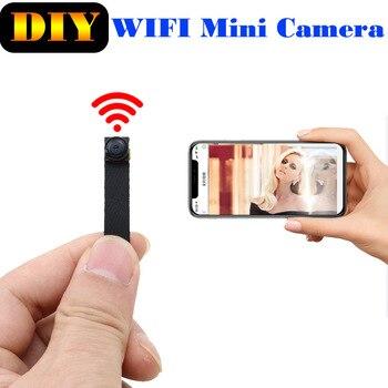 JOZUZE 720P Wi-Fi Wireless Mini Network Camera Surveillance WIFI Camera Audio Video Recorder Camcorder IP Camera P2P Micro Cam