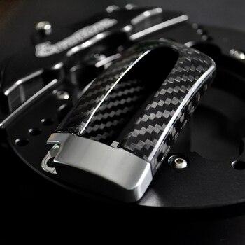 цена на Hotselling Carbon Fiber Fashion 6Colors Remote Key Car key shell Case key Cover For Nissan GTR Infiniti Car Keychain Accessories