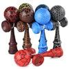 1 Piece Professional Bamboo Paint Wooden Kendama Balls Skillful Jumbo Kendama Juggle Game Balls Outdoors Toys for Children
