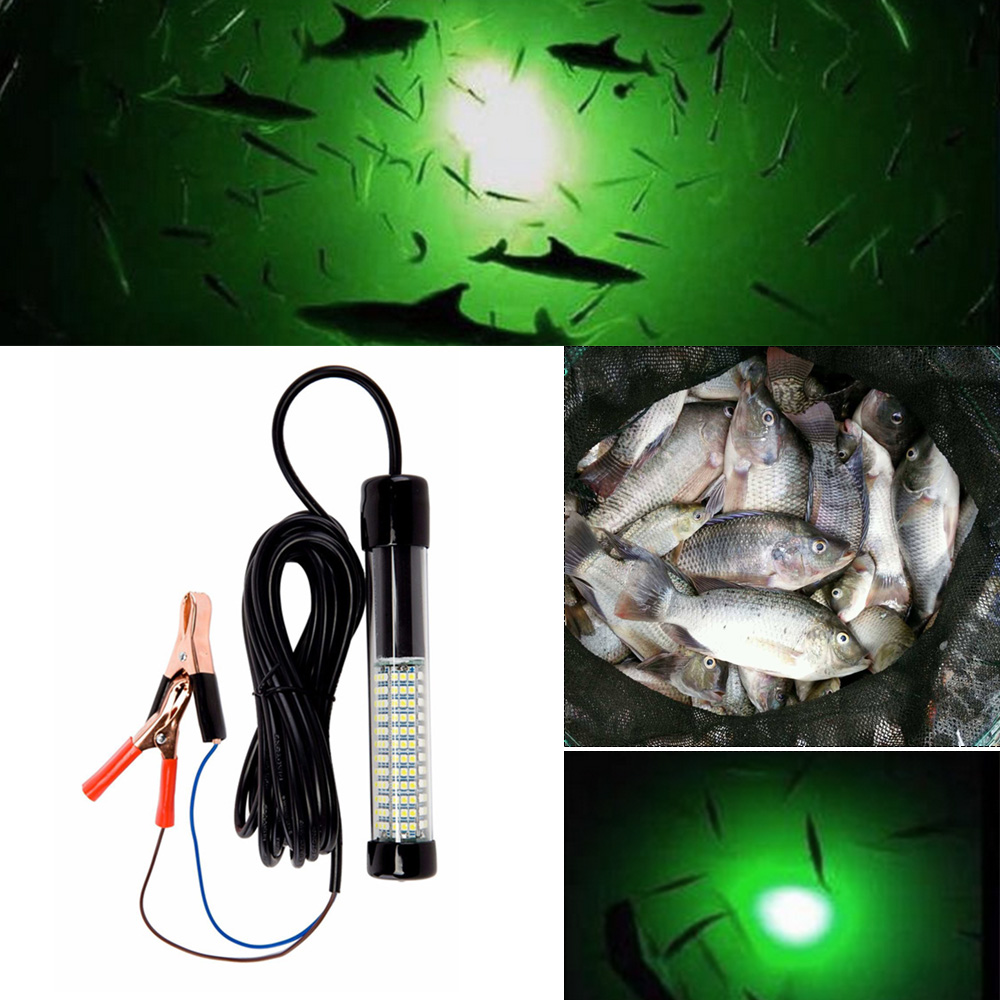 5V USB Power LED Warm White Underwater Submersible Night Boat Fishing Light Fish
