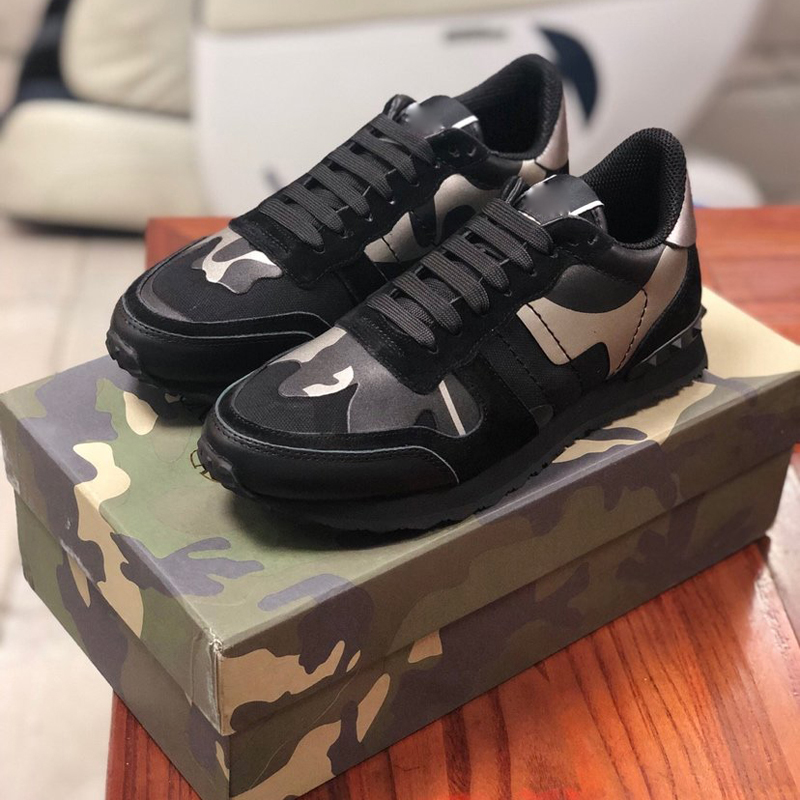 2020 The New Luxury Brand Of Fashionable Casual Sneakers In Leather Athletic Shoes For Men And Casual Shoes For Women