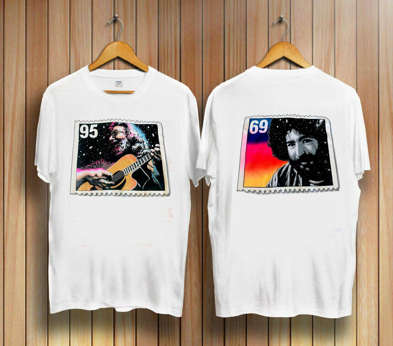Camiseta con estampado de Jerry garca 1995 de doble cara 69 Grateful Dead 2cantidad para Volkswagen Passat 1995 1996 1997 puerta trasera escotilla Liftgate elevador soporte puntal Gas resorte Prop