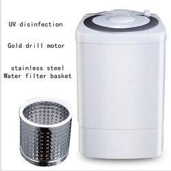 7kg duża pojemność pojedynczy baryłkę półautomatyczne Mini pralka do dezynfekcji UV pralka i suszarka dziecko specjalne skorzystaj z