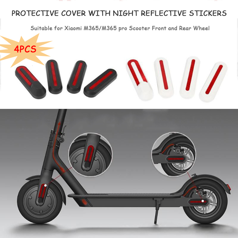 Stickers reflective stickers rear scooter xiaomi m365//m365 pro