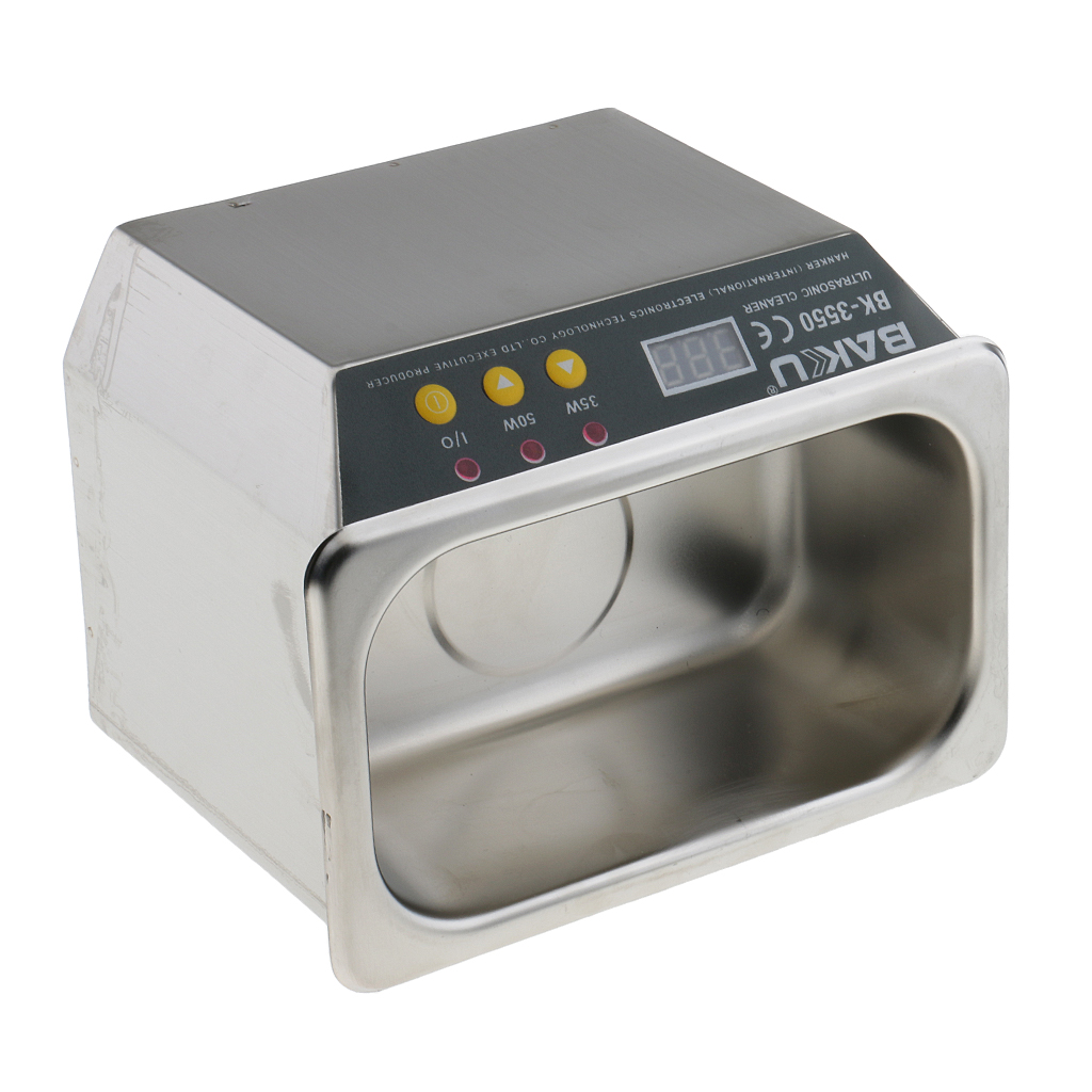 Machine de nettoyage de pièces électroniques de décapant de montre de bijoux ultrasonique de 35/50W