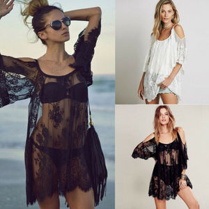 Women Beachwear Summer Swimwear Bikini Beach Wear Cover Up Kaftan Ladies Dress