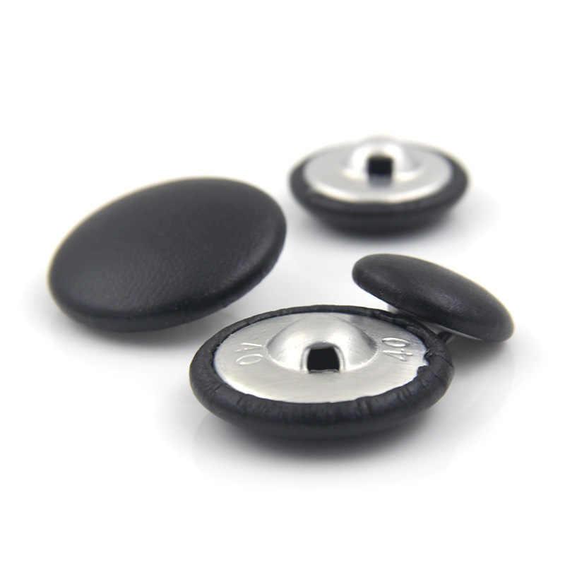 10 個 11-32 ミリメートル革バッグボタン Diy の縫製衣類付属品ハイグレードウインドブレーカーコートソファソフトボタン