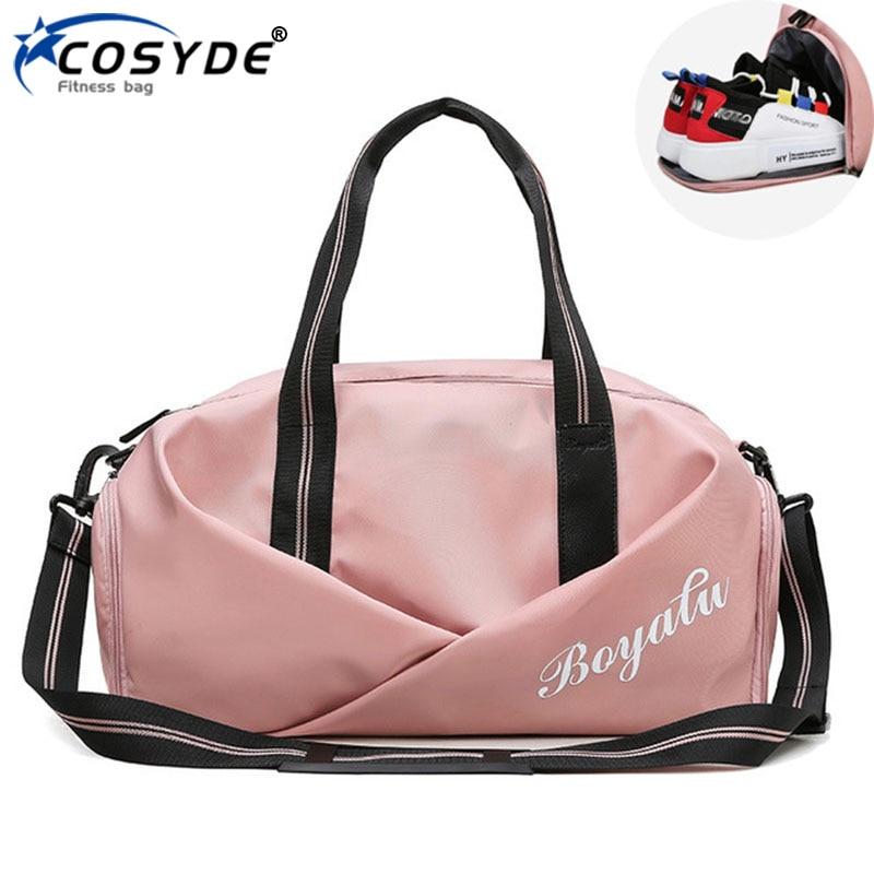 Women Gym Bag Sports Fitness Handbag Training Bags For Shoes Travel Dry And Wet Yoga Mat Sac De Sport Mochila Sporttas 1