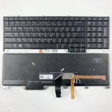 Клавиатура для ноутбука с подсветкой dell alienware m17 17 r4