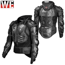 GHOST RACING Motorcycle Jacket Men Full Body Armor Motocross Racing Protective Gear Chest Protection Off-road Anti-drop