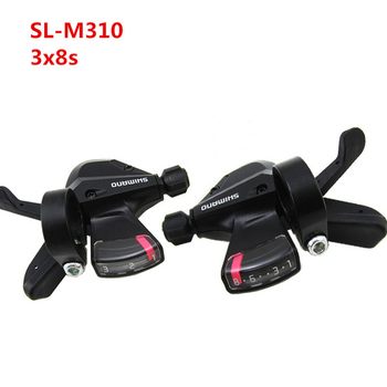 3x8-Speed Shift Lever Shifter  Right Left Bicycle Derailleur for Shimano Acera SL-M310 Mountain Hybrid Bike Bicycle Parts цена 2017