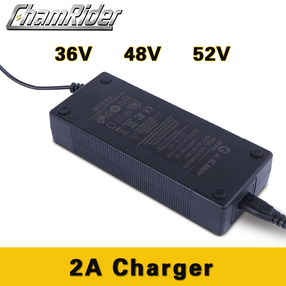 54.6V 8A Lithium Battery Charger For 48V Li-Ion Battery Ebike with XLR Plug