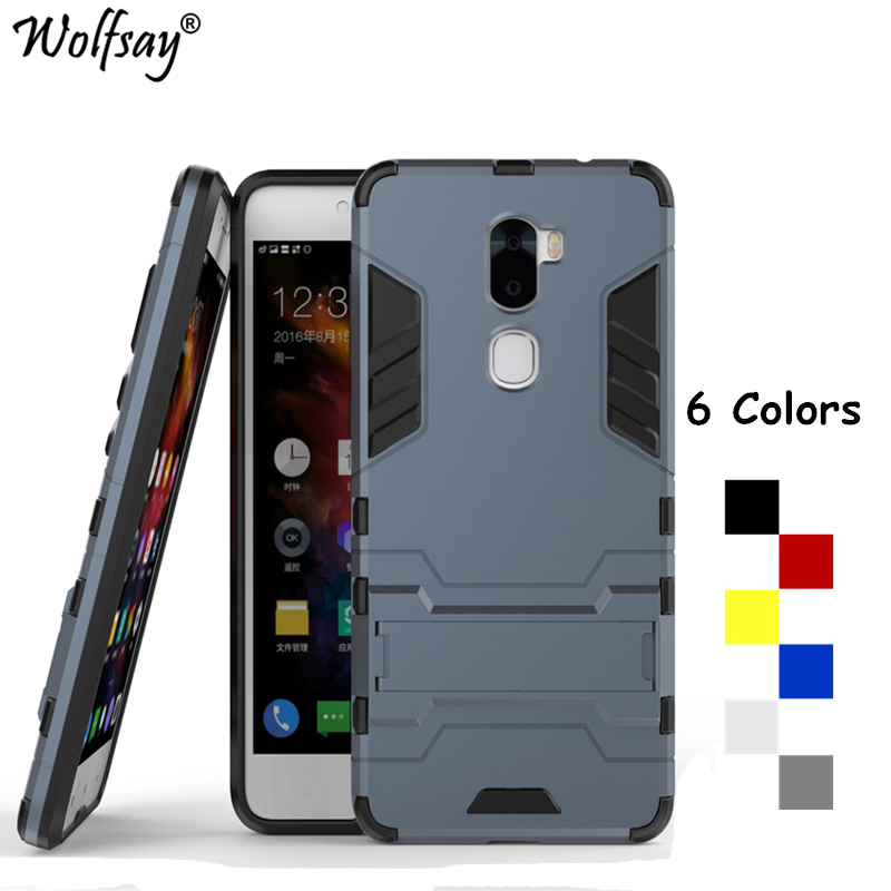 """Wolfsay Cover Leeco Cool 1 Case LeRee Le 3 Case 5.5"""" Shockproof Robot Armor Silicone Phone Case sFor Leeco Cool 1 Coolpad Cool1(China)"""