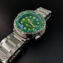 Мужские автоматические механические часы nh35 сапфировые кристаллы