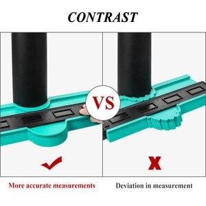 Image 4 - Plastic Copy Contour Gauges 12/14/25/50cm Contour Gauge Standard Wood Marking Tool Tiling Laminate Tiles Household Tools