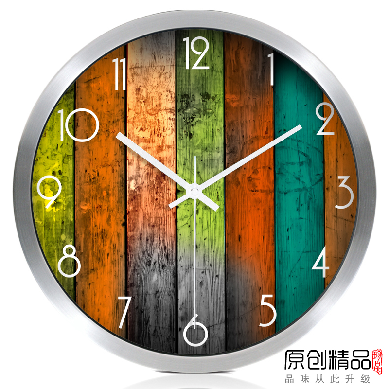 Nordic Modern Bedroom Wall Clock Glass Large Modern Wall Clocks Thick Watches For Kitchen Living Room Watch Home Decor II50BGZ