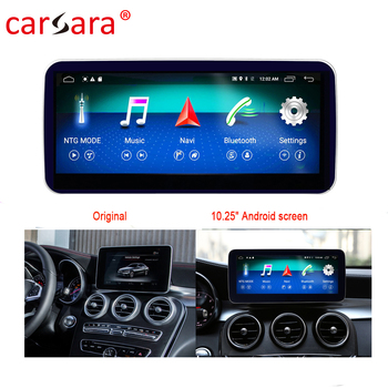 Merce des GLC V X Class W205 C253 W447 X250 Touch Screen Player Stereo Display Navigation image