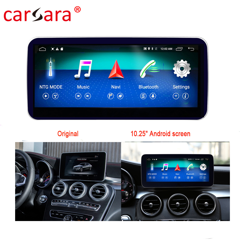 Merce des GLC V X Class W205 C253 <font><b>W447</b></font> X250 Touch Screen Player Stereo Display Navigation image