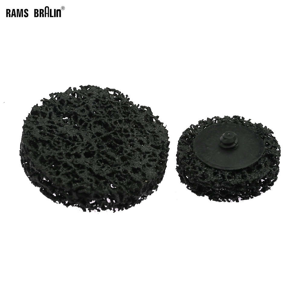 1 Piece Roloc Rust Removal Paint Peeling Disc Quick Change Polishing Pad For Metal Finish