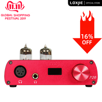 LOXJIE P20 Full Balance Tube Headphone Amplifier Military grade 6N3 electronic tubes and carefully tuned circuits