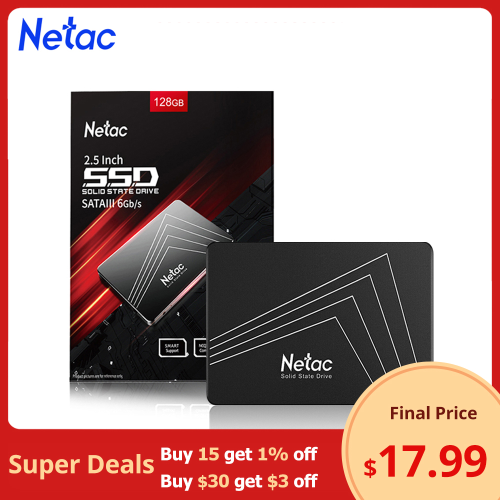 Netac ssd 1tb 2.5'' SSD SATA 120gb 240gb 480gb ssd 500gb 250gb 128gb 256gb 512gb Internal Solid State Hard Disk Drive for Laptop